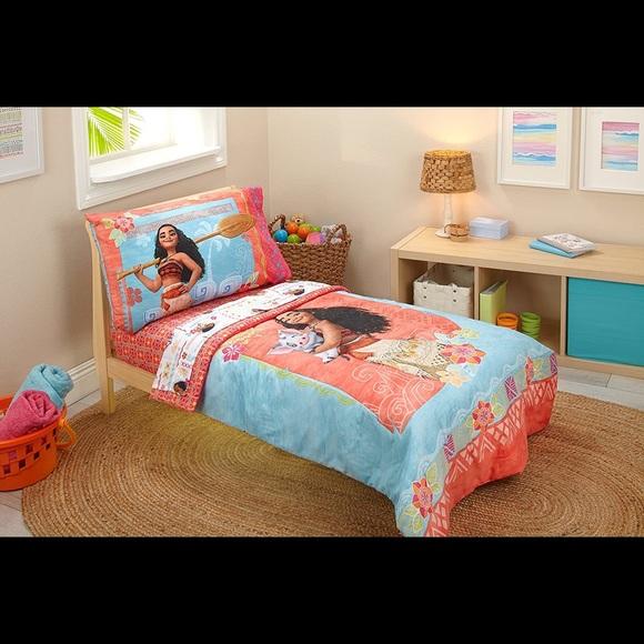 Disney Other | Disney Moana Toddler Bedding Set | Poshmark